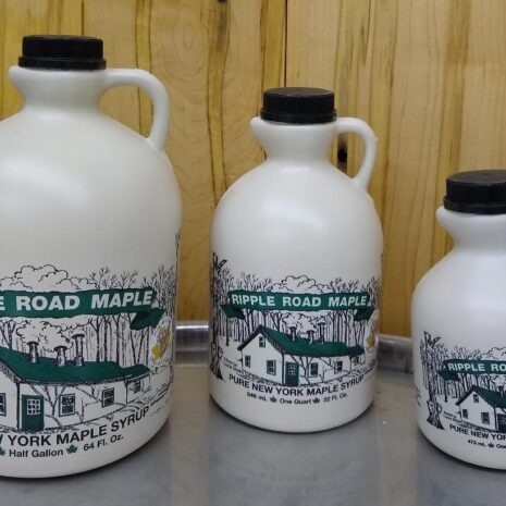 3 Maple Syrup Sizes