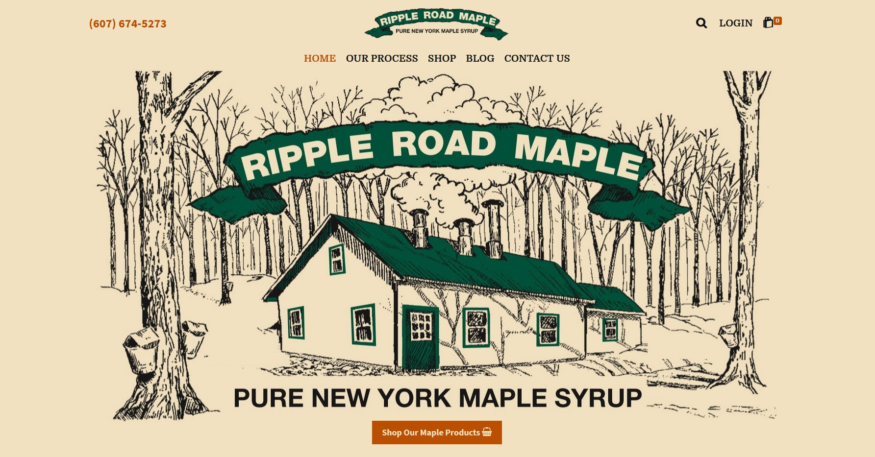 Ripple Road Maple - Pure New York Maple Syrup, Norwich, New York
